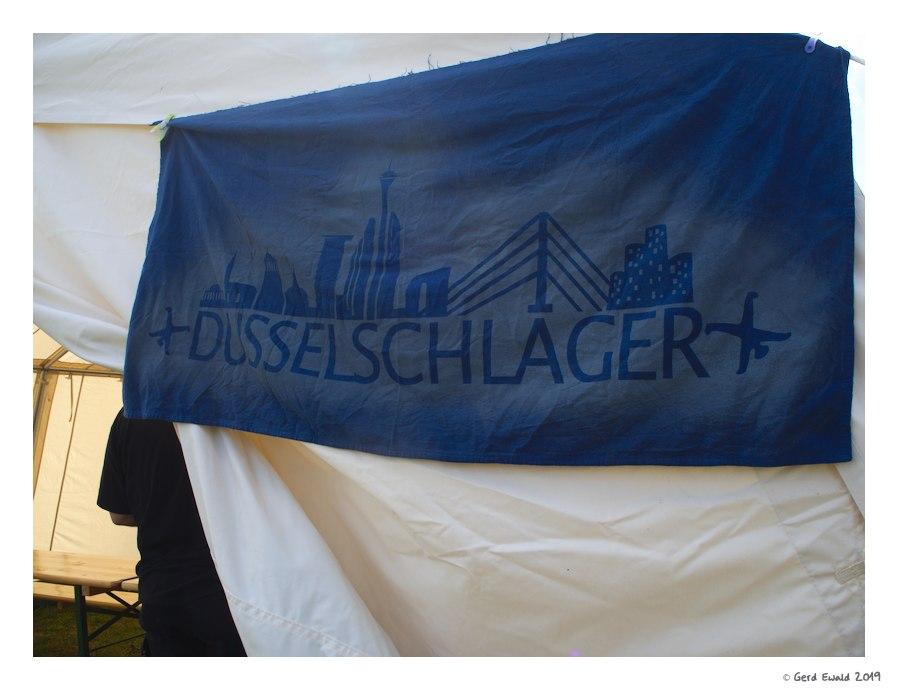 Düsselschläger-Flagge - GC-Meisterschaft 2019